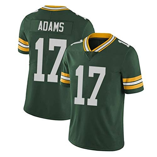 Green Bay Packers Davante Adams # 17 Camiseta de fútbol par