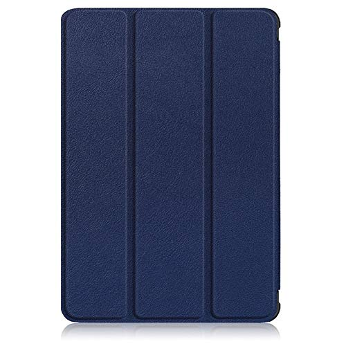 GHC PAD Cases & Covers For Amazon Fire HD 8 8' 2020, New PU Leather Folding Case Tablet Protecter Shell Handle Stand Case Cover for Fire HD8 Plus (Color : Deep blue)