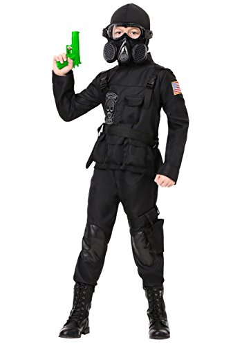 Kid's Navy Seal Team 6 Costume Special Forces Costume for Kids Medium