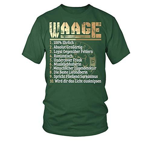 Preisvergleich Produktbild Männer T-Shirt Waage Charaktereigenschaften Frauen