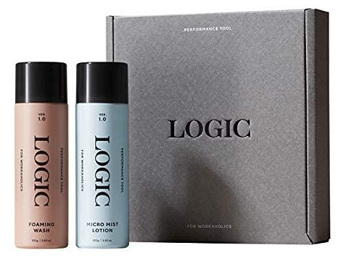 スキンケアセット ロジック LOGIC ワンプッシュ泡洗顔 100g & ミスト化粧水 100g ( 洗顔 洗顔フォーム 洗顔料 化粧水 男性用化粧水 メンズ スキンケア