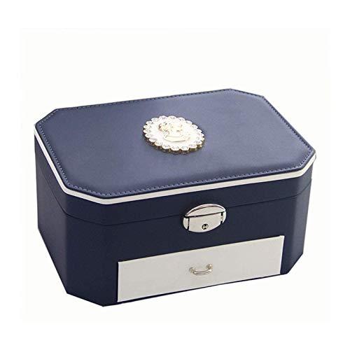 MWXFYWW Boîte à Bijoux Simple de Style Moderne Haut...