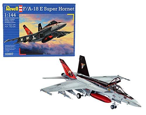 ドイツレベル 1/144 F/A-18E スーパーホーネット プラモデル