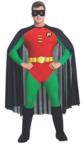Rubie's mens Classic Batman, Deluxe Robin Costume Party Supplies, As Shown, Medium US