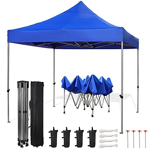 Cenador Plegable, Carpa Impermeable 3 x 3 m, Protección Sol