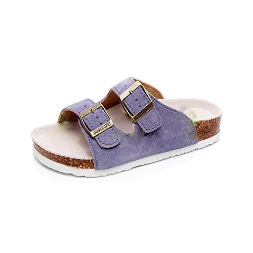 Hommes Femme Sabots Chaussures Liège Sandales Mules d