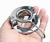 Neue Design Scrotal Anhänger Gewicht-lagerUng Metall Hodenring Penis Lock Penis Ringe Schwere...