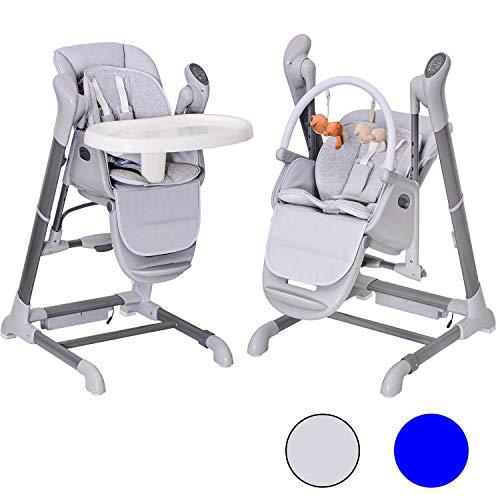 Bebe2Luxe Splity 3-en-1 : Chaise Haute, Balancelle, transat