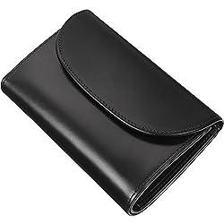 ホワイトハウスコックス(Whitehouse Cox) S7660 三つ折り財布 ブラック 【正規販売店】