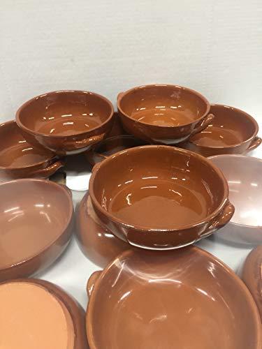 Teglie Tegamini Alti In Terracotta Conf 6pz