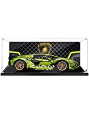 SEREIN 3 mm acryl vitrine display box acryl showcase compatibel met Lego Technic Lamborghini Sián FKP 37 42115 (zonder Lego set)