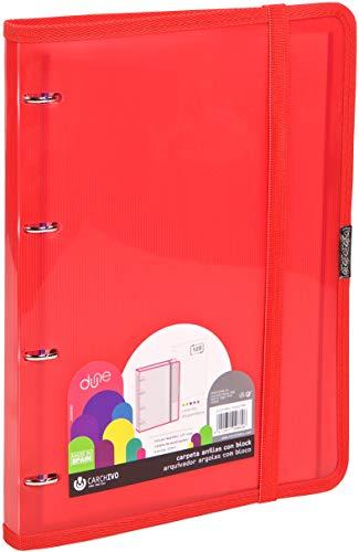 Carchivo 12377453 - Carpeblock con recambio, color rojo