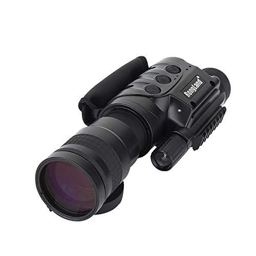 JYXZ Professionelles Digitales Nachtsichtgerät - Bildqualität der 2. Gen, Tag- und Nachtbetrieb, Auto-IR, Foto, Video, Videoausgang, 7x60mm, Black