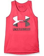 Under Armour UA Big Logo Slash Camiseta sin Mangas, Niñas