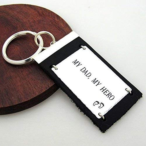 Custom Key Ring for Men Engraved Pull hook Keychain Key chain Gift for Women Wedding Gift Personalized Keyring Coordinates Keychains