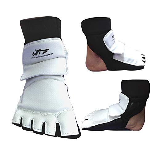 TTaceb Box Handschuh Herren Kickboxen Handschuh Sparringhandschuhe Boxsackhandschuhe Boxsackhandschuhe PU Leder Boxhandschuhe Foot-Cover,xs