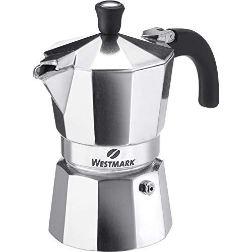 Westmark Espressokocher, Für 3 Tassen Espresso, Brasilia, Aluminium, 24602260