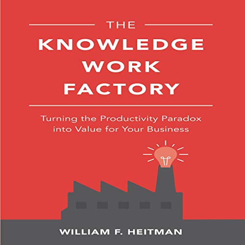 The Knowledge Work Factory audiobook cover art