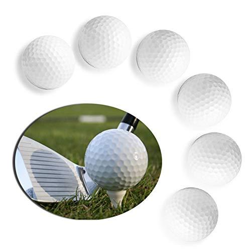 NO LOGO YSSP- Outdoor Indoor Sport Golfball Weiß Trainings-Praxis-Ball Grade Hausgarten-Werkzeug-Ball-Spiel Golf Trainingsball