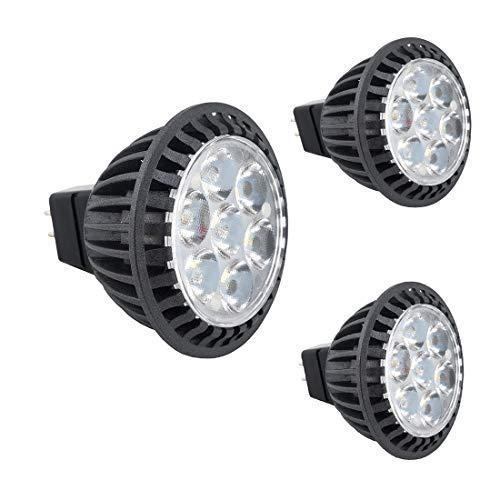 Bonlux 3-Pack 5W MR16 GU5.3 LED Spotlight Warmweiß 3000K 220-240 Volt 45 Grad wie 50W Halogen GU5.3 LED-Birnen für Deckeneinbauleuchte Downlight Track Beleuchtung