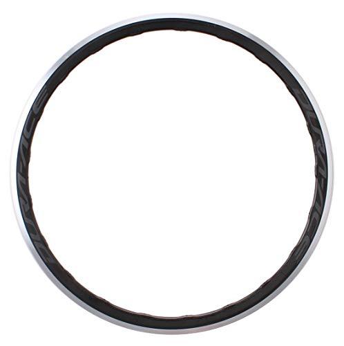Shimano Dura-AceWH-R9100-C40 - Llanta de rueda trasera con rosca de neumáticos 16G, color negro