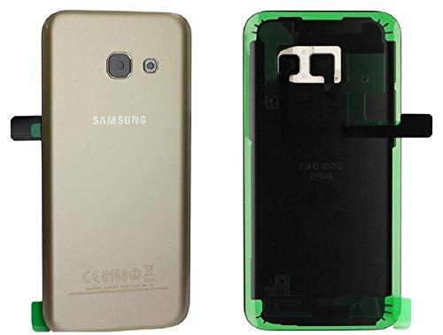 Originele batterijdeksel Backcover voor Samsung Galaxy A5 2017 SM A520F A520 goud/plakfolie/afdichting/gereedschapsset/reparatiehandleiding