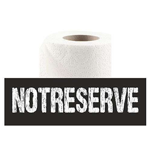 Notreserve aus der Dose - Klopapier - Toilettenpapier - Scherzartikel - Scherzgeschenk - Geburtstagsgeschenk - Wichtelgeschenk (Notreserve)