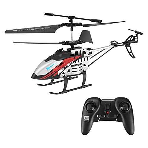 E-More Elicottero Telecomandato, 3.5 Canali 2.4 GHz Mini Aereo telecomandato con Controllo di stabilità giroscopica, elicottero telecomandato per bambini e Adulti