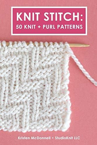 Knit Stitch 50 Knit Purl Patterns product image