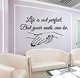 Wand fenster aufkleber aufkleber nagelstudio nägel nail