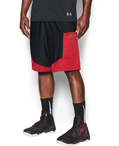 Under Armour Hombre SC30super30nic pantalones cortos - 1282380, Negro