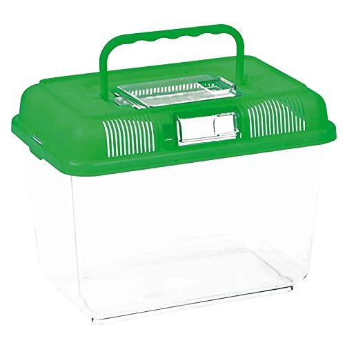 Trixie 76301 Transport- und Fütterungsbox, 24 × 17 × 16 cm, Farblich sortiert