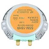 JULYKAI Motor agitador microondas, CA 21 V Estable 6549W1S011B Motor de Placa giratoria de...