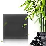 Schwarze Seife,Seife Bambuskohle,Handgemachte Seife,Ideal für Tiefenreinigung, Entschlackender Gesicht,Bamboo Charcoal Facial Soap,handgemachte Aktivkohle Seife - 5