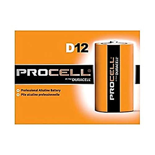 Duracell PGD PC1400 Procell Battery, Alkaline, C Size (Pack of 12)