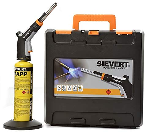 Sievert PowerJet Powercase 253521 MAPP Lötset Hartlöten Weichlöten bis 2450°C