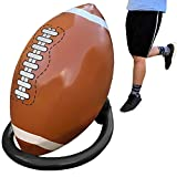 Giant Inflatable Football and Tee - Party Decorations Sports Toys Games and Gifts for Kids Boys Girls and Adults