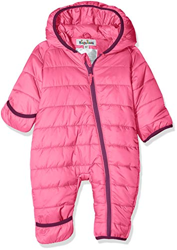 Playshoes Baby-Unisex Stepp-Overall Uni Schneeanzug, pink (Pink), 74