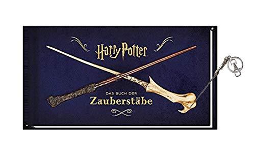 Panini Verlag Harry Potter : le livre des baguettes magiques (édition reliée) + 1 porte-clés Harry Potter.