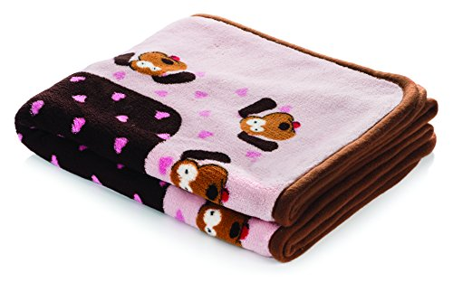 SmartPetLove - Snuggle Blanket for Pets, Pink Pattern