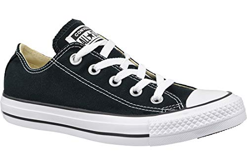 CONVERSE Chuck Taylor All Star Seasonal Ox, Unisex-Erwachsene Sneakers, Schwarz (Black/White), 39.5  EU