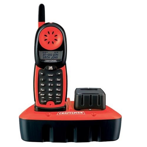 Craftsman 27413 Durable Construction Cordless Craftsman Shop Phone with Caller Id/call Waiting