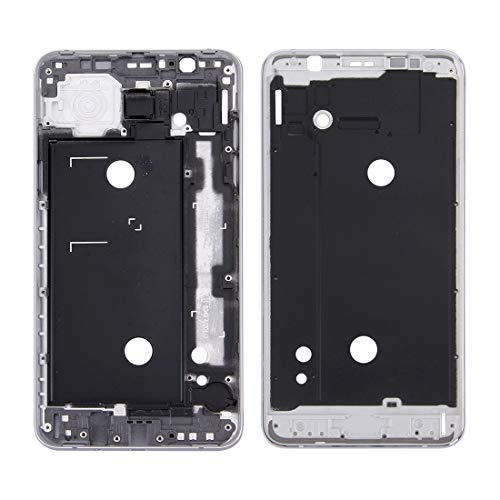 Dongdexiu Accesorio de Repuesto For Samsung Galaxy J7 (2016) / J710 Carcasa Frontal LCD Marco Bisel Plate (Color : Grey)