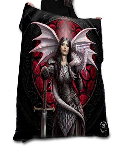 Wild Star Hearts Valour - Fleece, Throw, Tapestry by Anne Stokes
