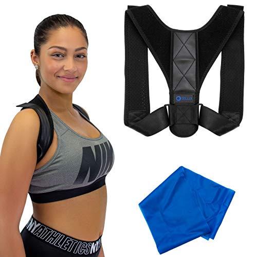 oSellix Haltungskorrektur Geradehalter Rücken Schulter Schultergurt Rückenhalter