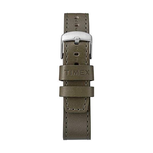 Timex Reloj Análogo clásico para Hombre de Cuarzo con Correa en Cuero