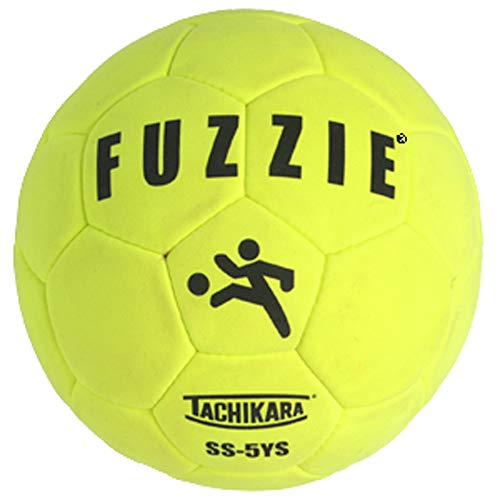 Tachikara SS5YS Fuzzie, Size 5, Indoor Soccer Ball,yellow