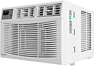 hOmeLabs 10,000 BTU Window Air Conditioner - Energy Star Certified AC Unit with Digital Thermostat and Easy-to-Use Remote Control - Ideal for Rooms up to 450 Square Feet