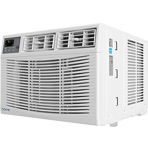 hOmeLabs 10,000 BTU Window Air Conditioner - Energy Star Certified AC Unit with Digital Thermostat...