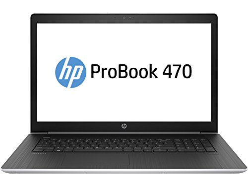 HP ProBook 470 G5 3KY77ES 43,9 cm (17,3 Zoll Full HD) Notebook (Intel Core I5-8250U, 128GB SSD, 1TB HDD, 8GB DDR4 RAM, NVIDIA GeForce 930MX 2GB DDR3, Win 10 Pro) schwarz/silber
